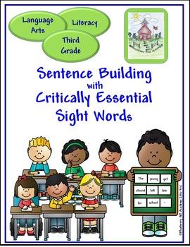 Sight Words for Sentence Building Bundle (3, 4, 5)