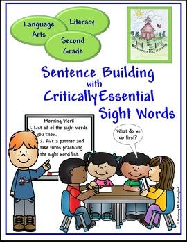 Sight Words for Sentence Building Bundle (2, 3, 4)