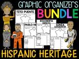 Bundle - Graphic Organizers - Hispanic Heritage Month