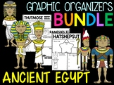 Bundle - Graphic Organizers - Important Figures of Ancient Egypt, Kush, Africa