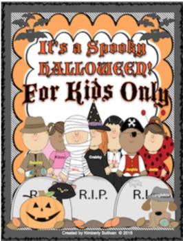 Bundle Halloween Math Word problems and ELA
