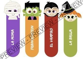 Bundle Halloween activities in Spanish - Actividades para Halloween (en español)
