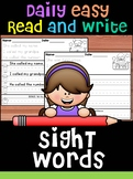 Bundle - Handwriting Practice - Fry's First 100 Sight Words