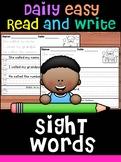 Bundle - Handwriting Practice - Fry's Second 100 Sight Words