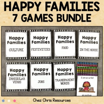 Bundle: Happy Families -  Transparent Words, Culture, Jobs..