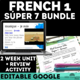 Bundle - High Frequency Verb Unit & Find Someone Who -  FRENCH present