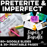 Bundle - High Frequency Verbs Units - past tense (preterite & imperfect)