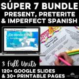 Bundle - High Frequency Verbs Units - Super 7 - present, i