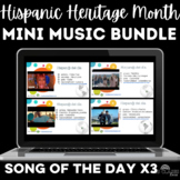 Bundle: Hispanic Heritage Month - 1 song for each Spanish speaking country x3