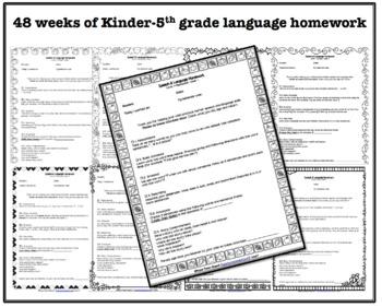 12 months of Speech, Language and Social Homework