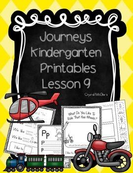 Bundle! Journeys Unit 2 Kindergarten Supplementary Materials