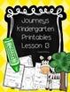 Bundle! Journeys Unit 3 Kindergarten Supplementary Materials