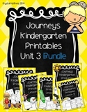 Bundle! Journeys Unit 3 Kindergarten Supplementary Materials