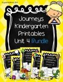 Bundle! Journeys Unit 4 Kindergarten Supplementary Materials