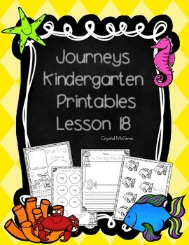 Bundle! Journeys Unit 4 Kindergarten Supplementary Materials