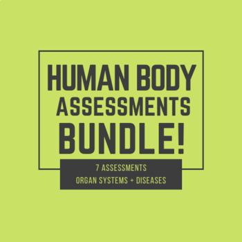 Bundle - Human Body Assessments!