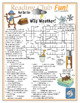 Bundle: Ice Storm and Wild Weather Two-Page Activity Set a