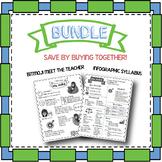 Bundle: Infographic Syllabus, Bitmoji Meet the Teacher