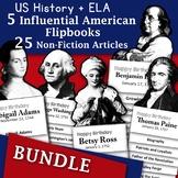 Bundle - Informational Text and Flipbooks - Revolutionary War