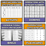 Bundle - Integers numbers - 11 ITEMS