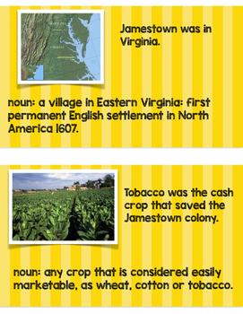 *Growing* Bundle! Interactive Word Wall for Early U.S. History