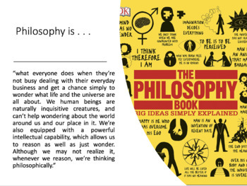 Bundle: Introduction to Philosophy (PowerPoint, Worksheet, Exam Questions)