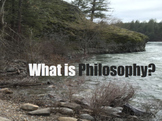 BUNDLE: Introduction to Philosophy (PowerPoint, Worksheet,