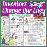 Inventions and Inventors: Activity Set, Crossword and Word