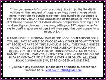 Bundle It Book Companions