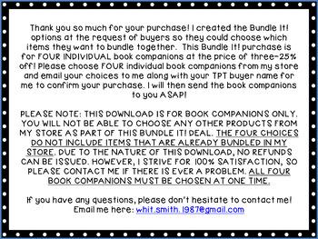 Bundle It Book Companions: TWO