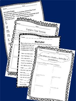 Bundle: Journal Work for Math, Language Arts, & Science