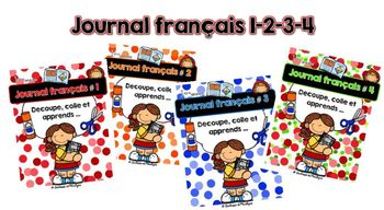 Bundle: Journal français 1-2-3-4
