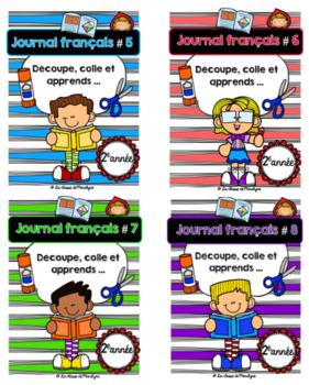Bundle: Journal français 2e année 5 à 8