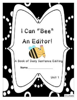 *Bundle* Journeys First Grade Units 1-6: Daily Sentence Editing Book