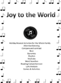 Bundle - Joy to the World - A Lesson in Carols - Videos & Printables