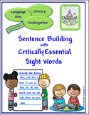 Sight Words for Sentence Building Bundle (K, 1, 2)