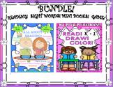 Bundle! K - 1 Reading Comprehension Passages and Questions Mini Books Printables