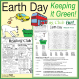 Keeping It Green (Earth Day & Environment) Two-Page Activi