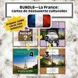 Bundle: La France: Cartes de Découverte Culturelles (French Cultural Kit)