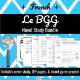 Bundle - Le BGG - Novel Study (*FRENCH*)