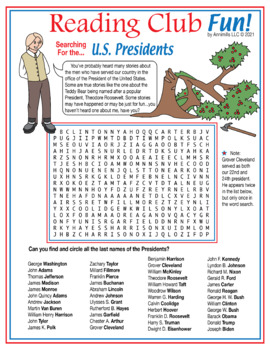 Bundle: Learn About and Search For the U.S. Presidents