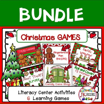 Christmas Themed Bundle of Learning Games