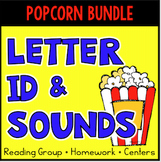 Letter Identification - Letter Sounds Assessment, Printables, Bundle