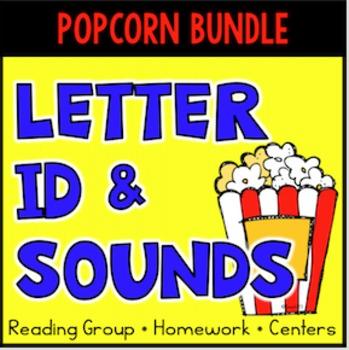 Letter Identification - Letter Sounds Assessment, Printables, Bundle