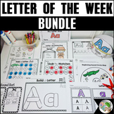 #SPRINGSAVINGS Letter of the Week A-Z Activities Bundle