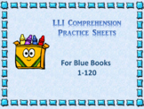 Level Literacy Intervention (LLI) Comprehension Sheets- Bl