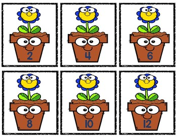 Bundle! Life Cycle of Frog, Butterfly, Growing a Flower, Skip Counting