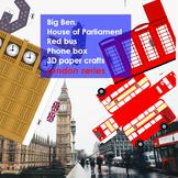 London Paper 3D crafts