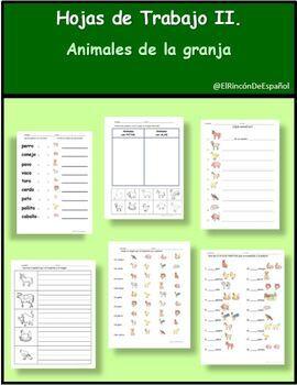 Bundle: Los Animales de la Granja