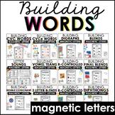 Magnetic Letter Activities (Bundle)